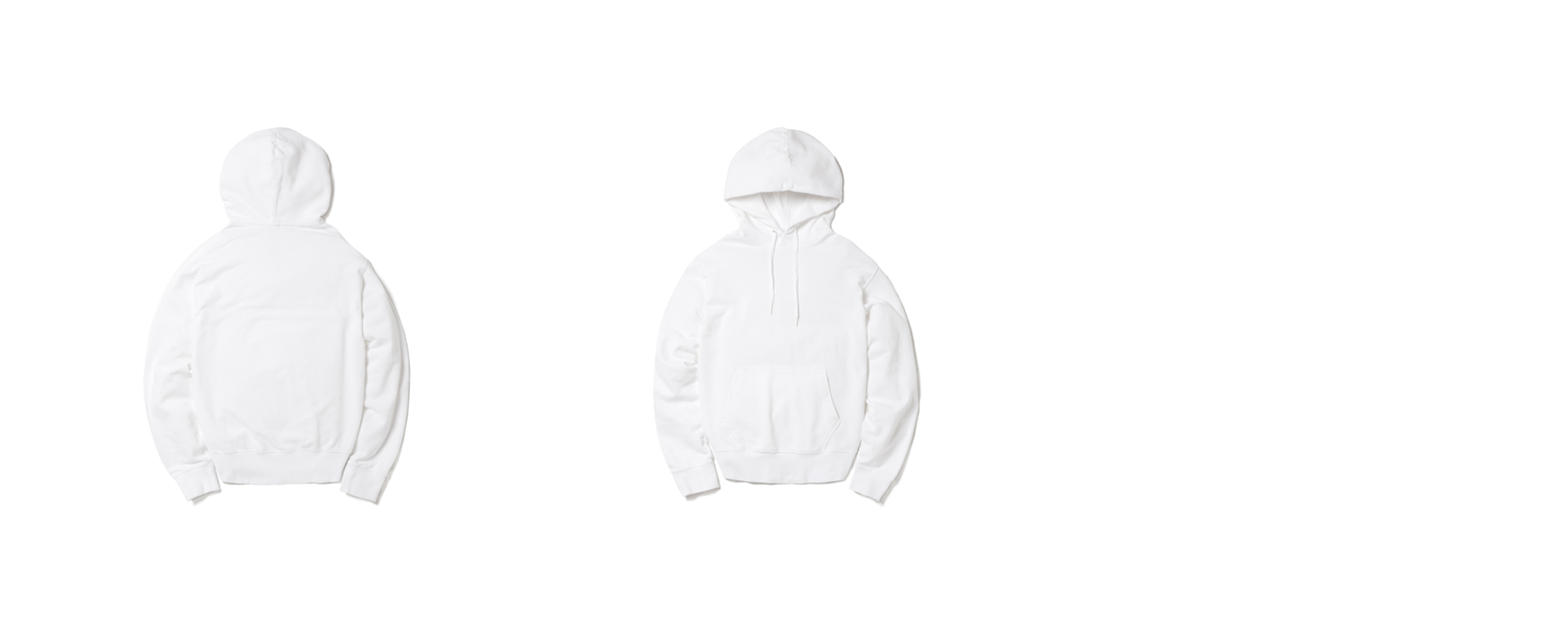 Light Pullover Hoodie White