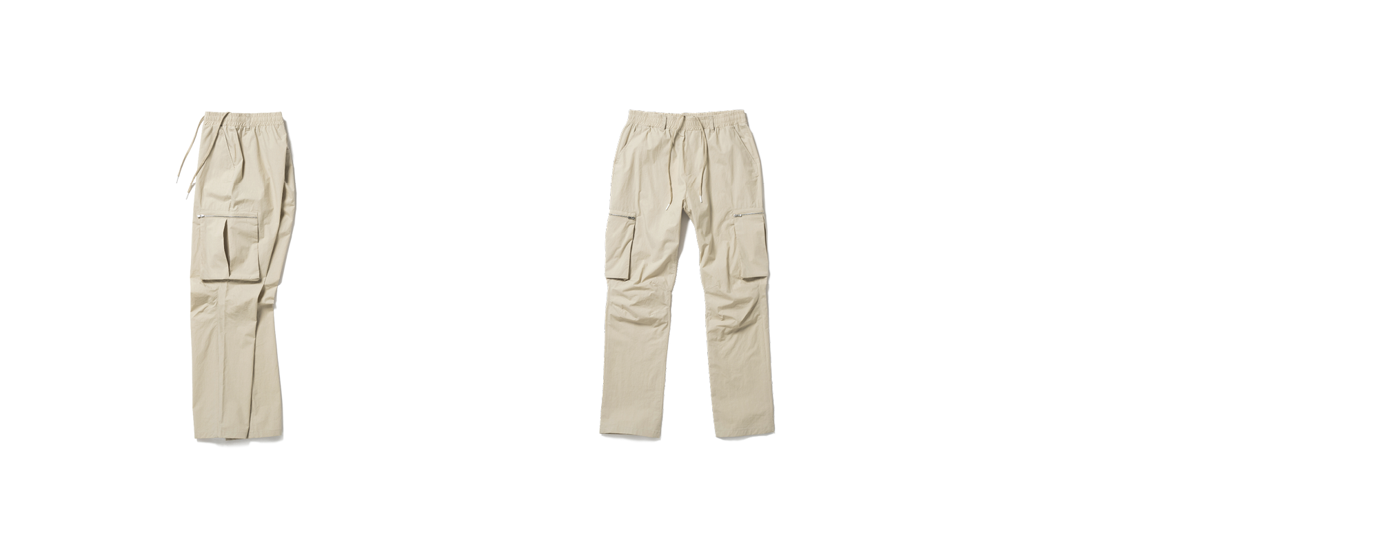 Cotton Cargo Pants Beige