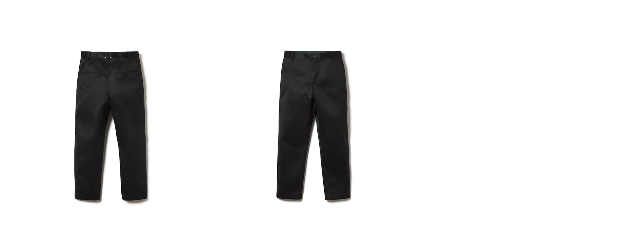 MAYER RELAXED CHINO  BLACK