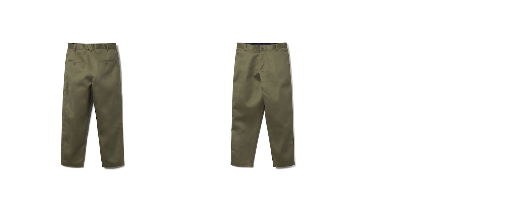 MAYER RELAXED CHINO  OLIVE