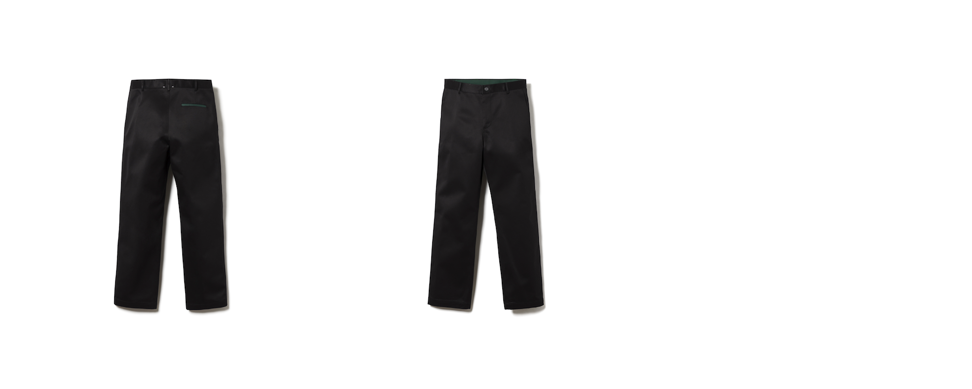MAYER STRAIGHT CHINO  BLACK