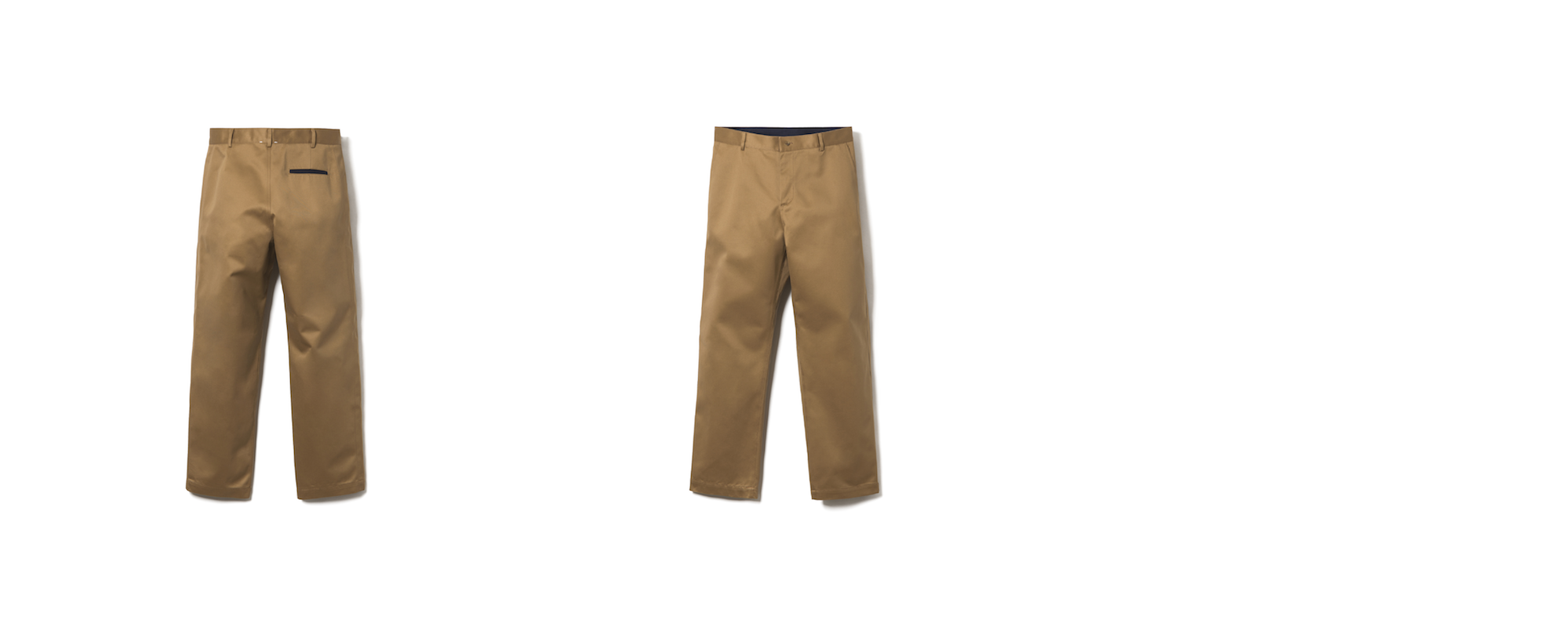 MAYER STRAIGHT CHINO  CAMEL