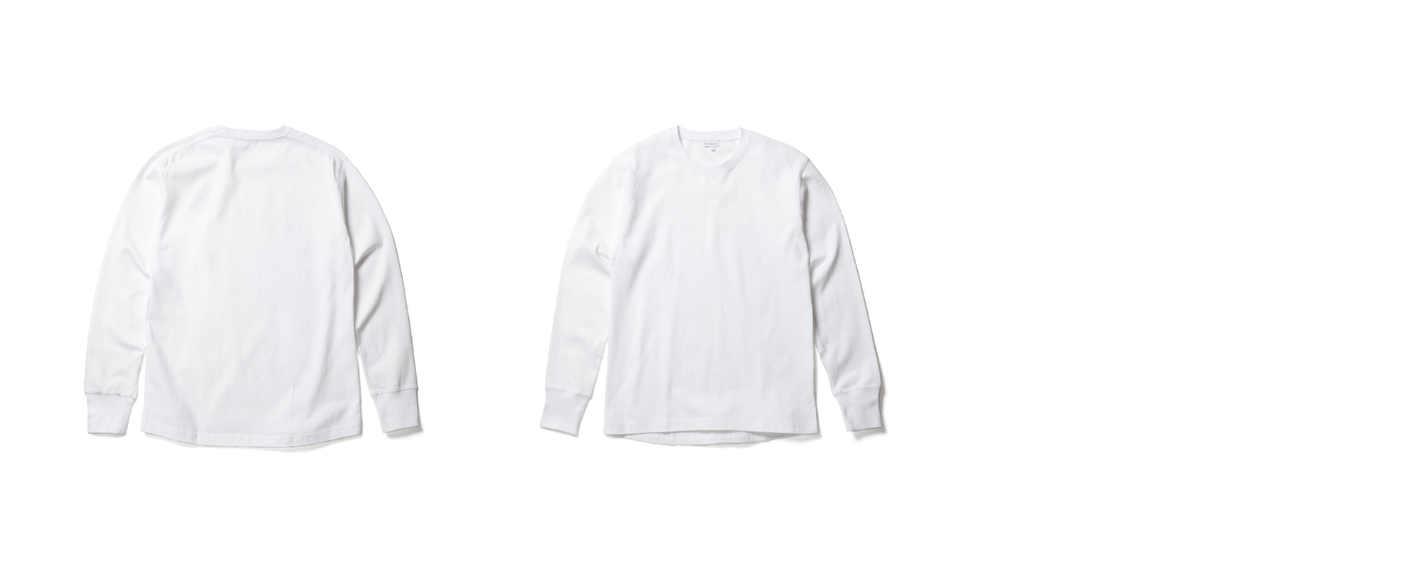 LIGHT JERSEY-LONG SLEEVE TEE   WHITE