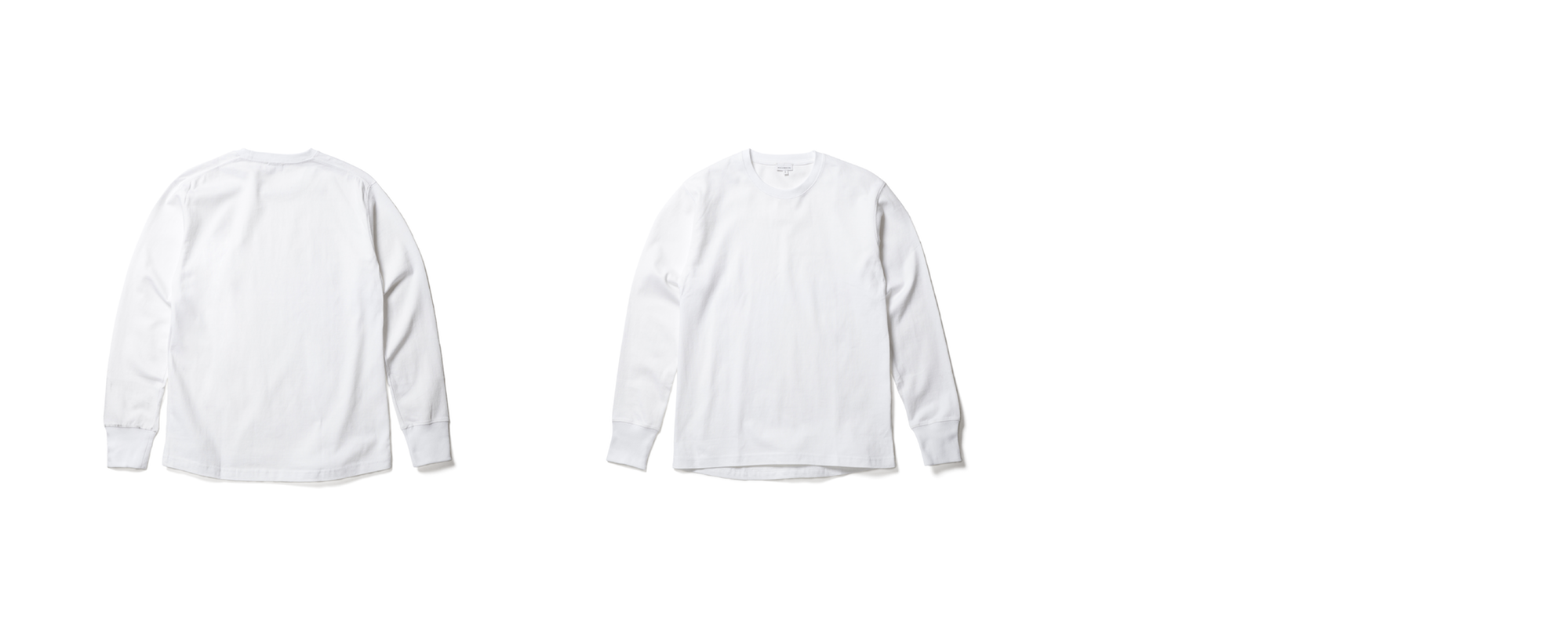 MID JERSEY-LONG SLEEVE TEE   WHITE