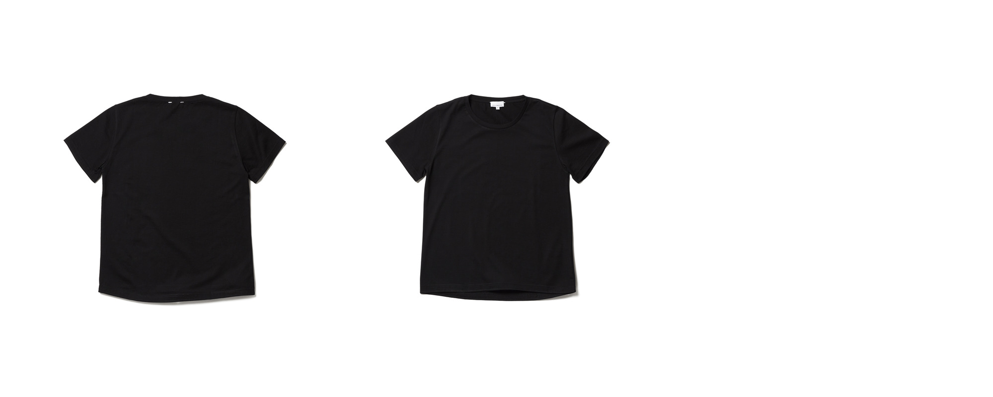 [Women] Light Half Sleeve Tee  Black