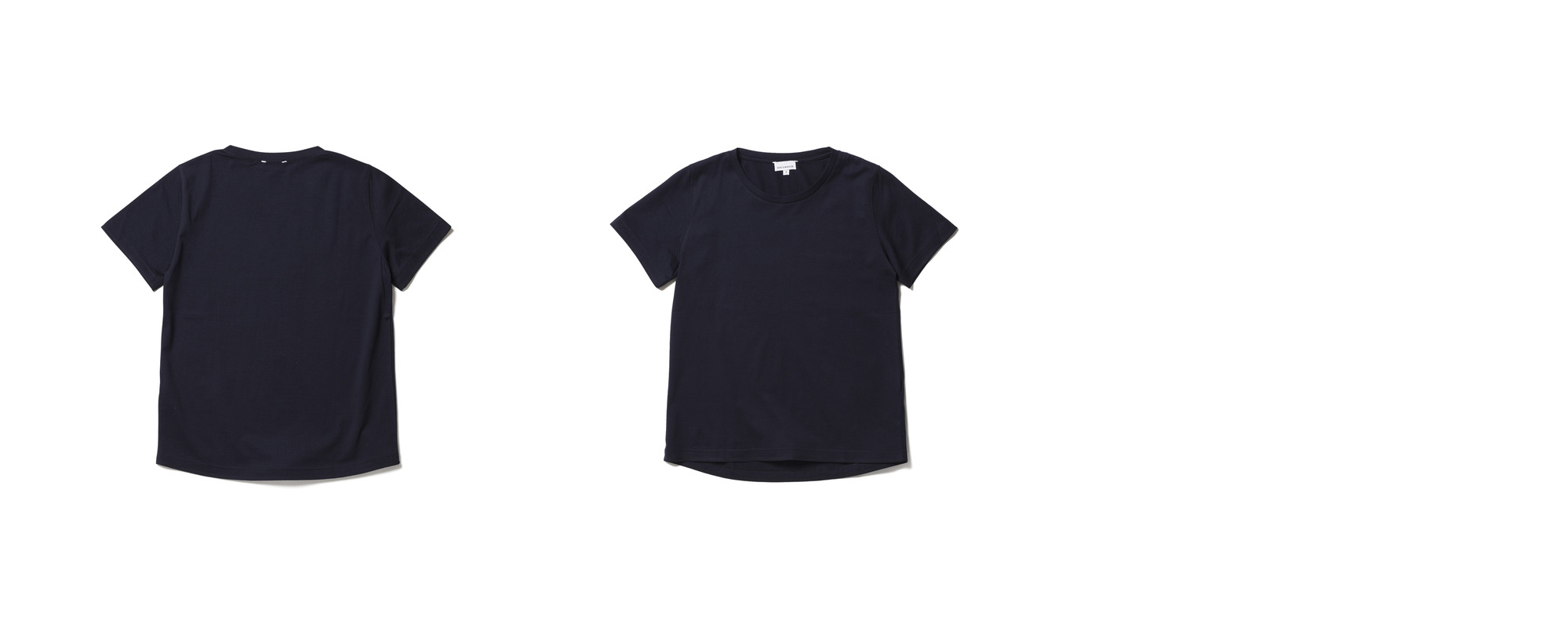 [Women] Light Half Sleeve Tee  Navy