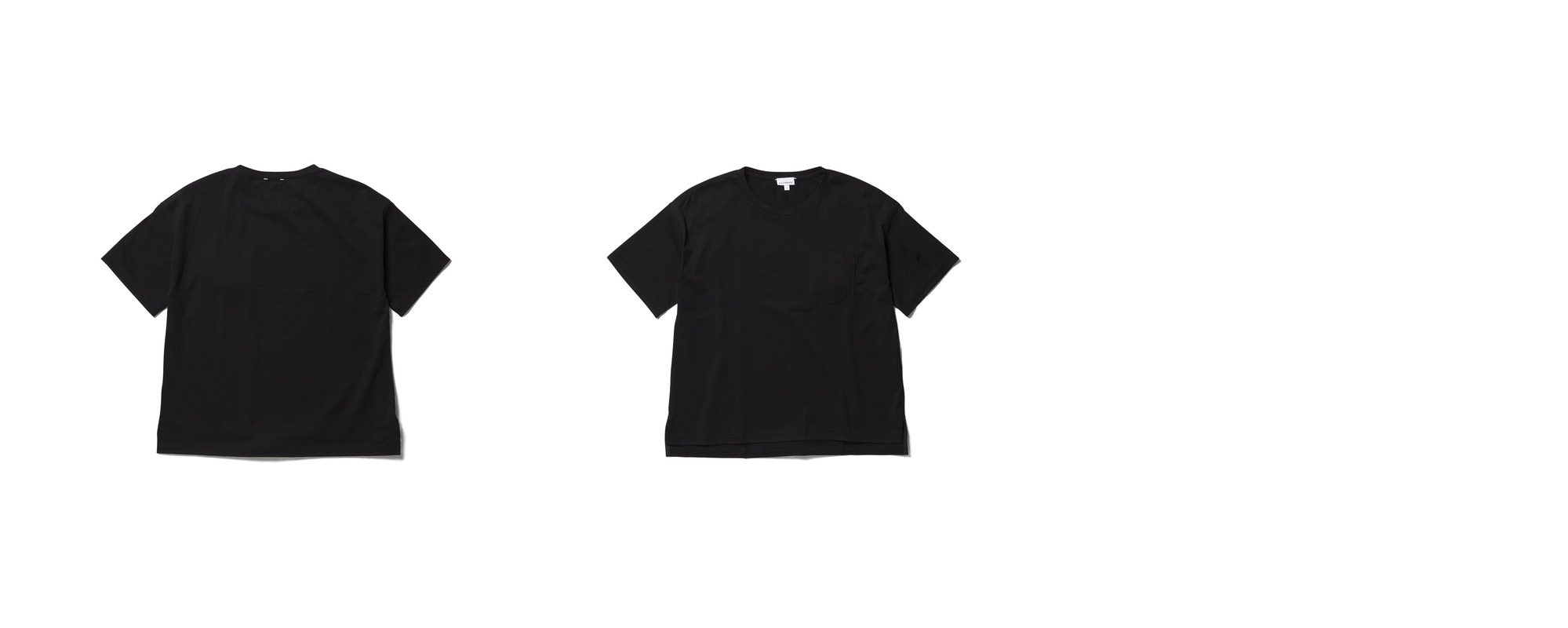 [Women] Light Pocket Tee  Black