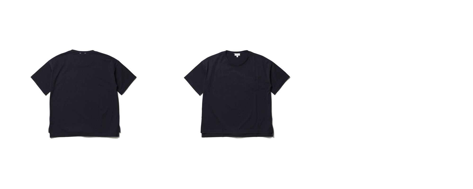 [Women] Light Pocket Tee  Navy