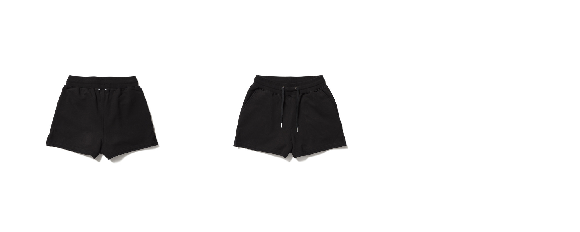 [Women] Mid Shorts  Black