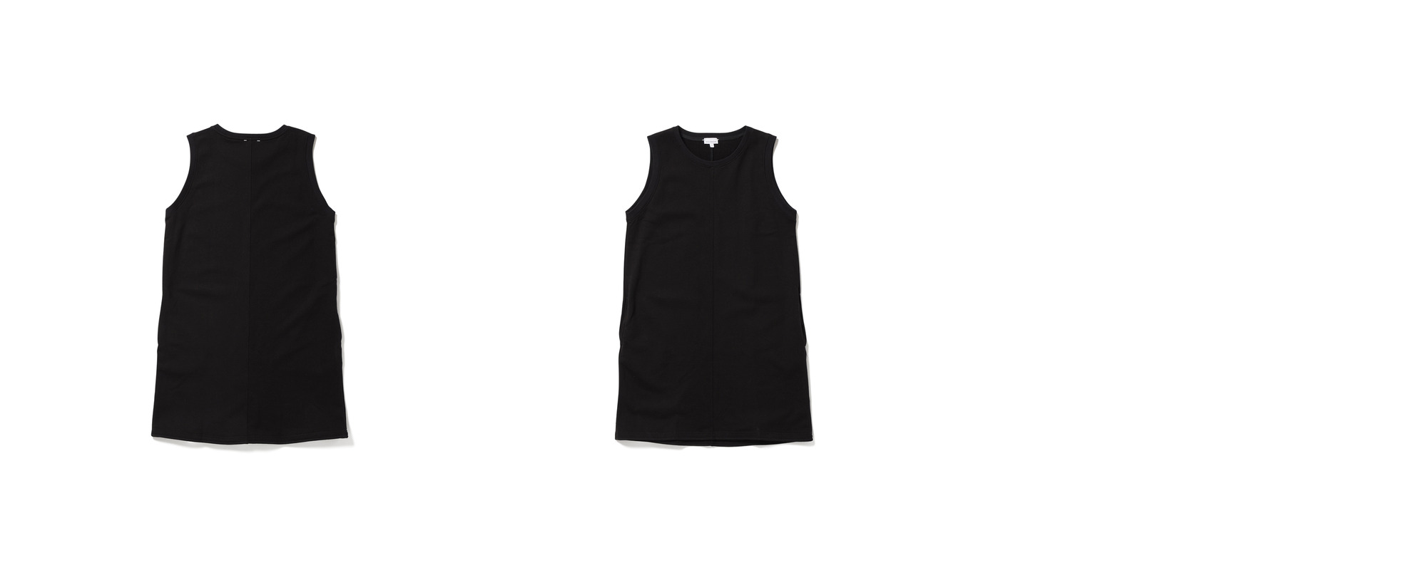 [Women] Mid Jersey Dress  Black