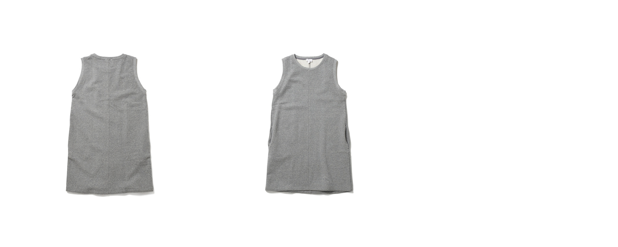 [Women] Mid Jersey Dress  Grey
