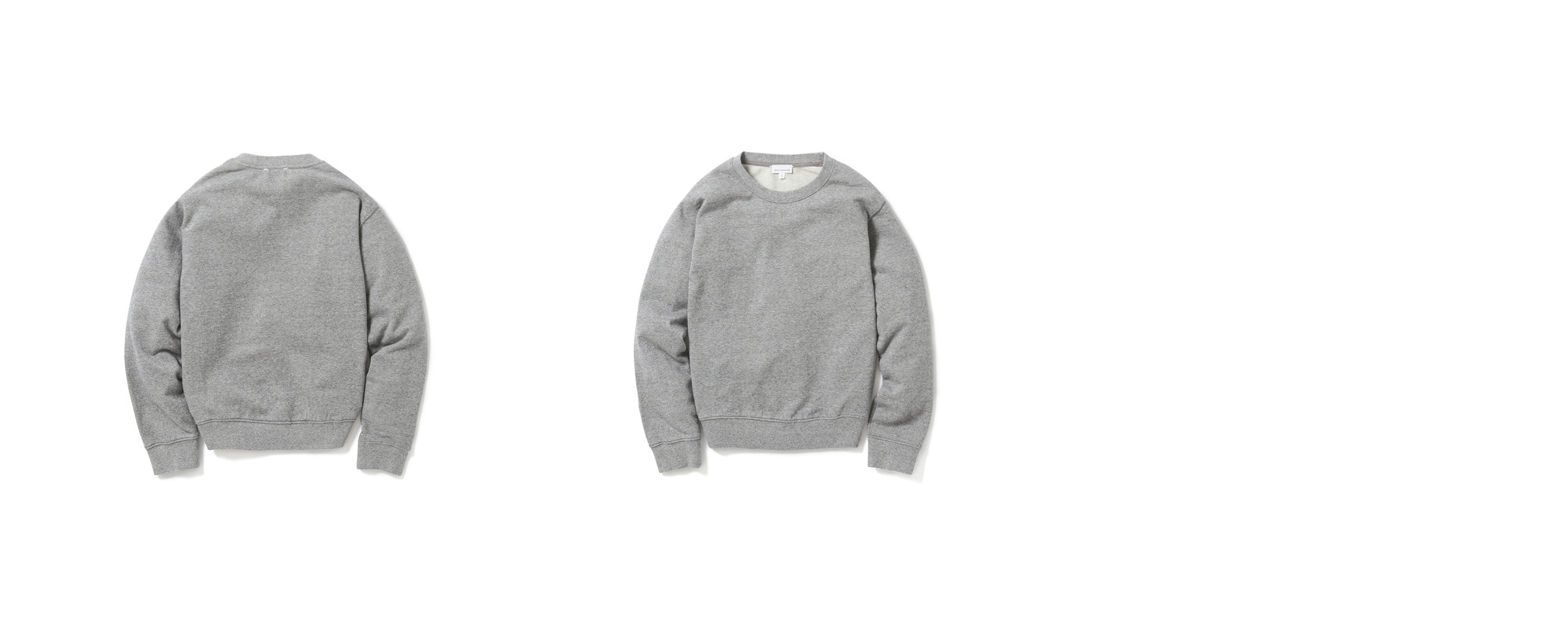 [Women] Light-terry Sweatshirt  Grey