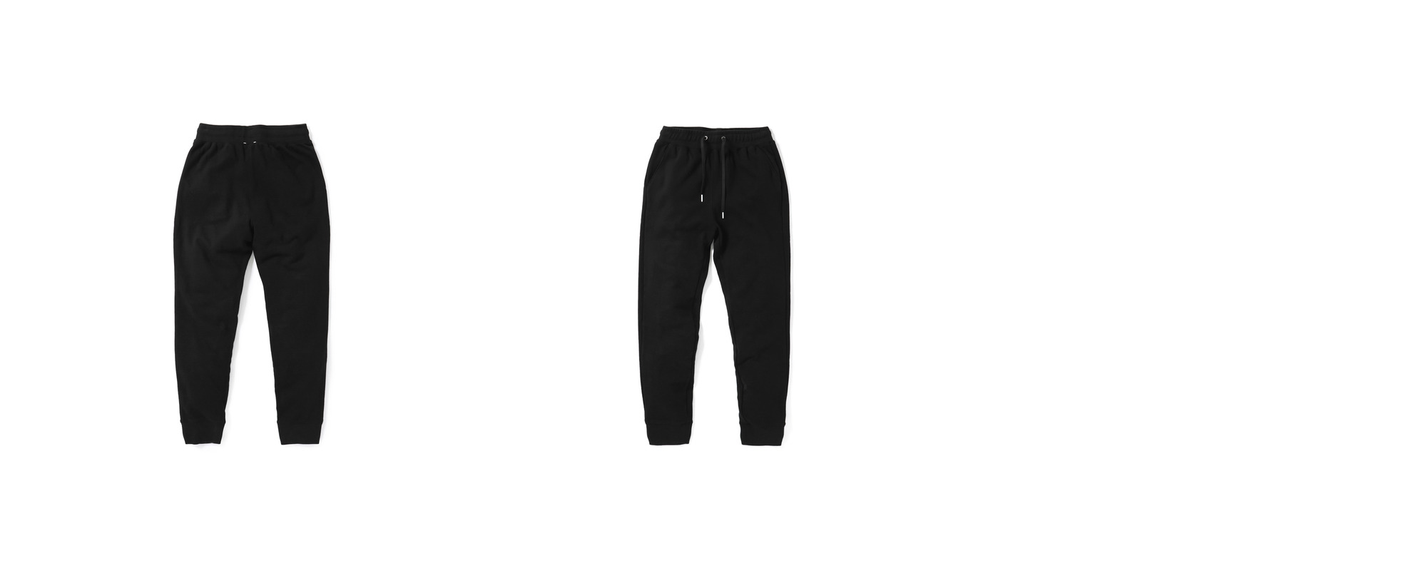 Mid-terry Sweatpants  Black