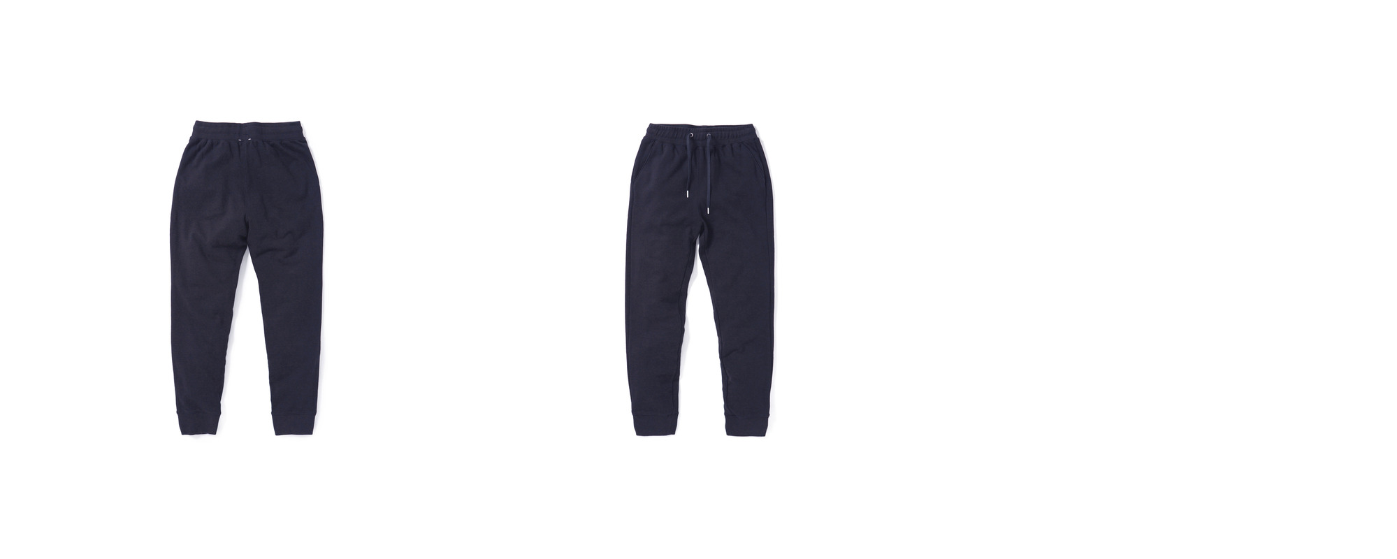 Mid-terry Sweatpants  Navy