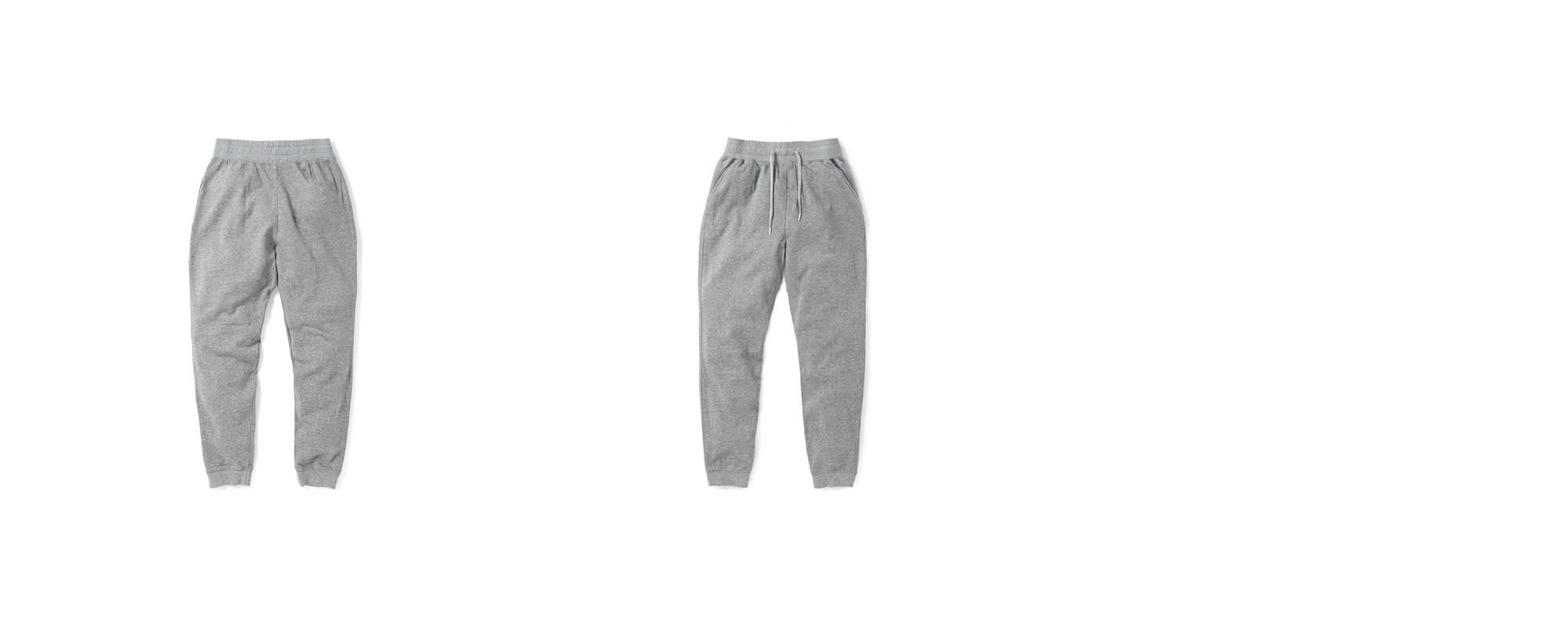 [Women] Mid-terry Sweatpants Grey