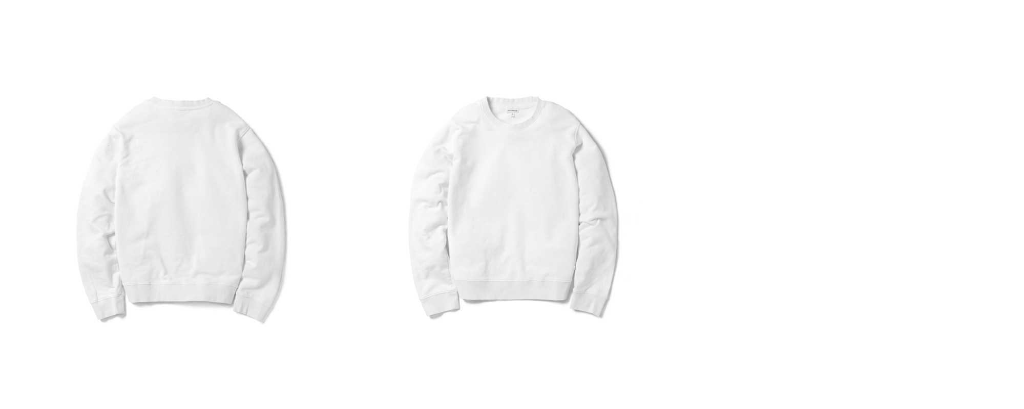 Light-terry Sweatshirt White